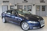 USED 2015 15 JAGUAR XF 2.2 D PORTFOLIO 4d AUTO 163 BHP FULL LEATHER SEATS + SATELLITE NAVIGATION + REVERSE CAMERA + BLIND SPORT ASSIST + HEATED/COOLED FRONT SEATS + DAB RADIO + BLUETOOTH + 17 INCH ALLOYS + CRUISE CONTROL