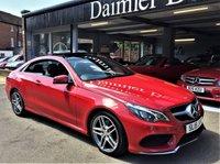 2015 MERCEDES-BENZ E CLASS 2.1 E250 CDI AMG LINE 2d AUTO 201 BHP £18995.00