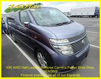 2003 NISSAN ELGRAND Nissan Elgrand Highway Star 4WD 3.5 Auto 8 seats £7500.00