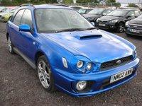 2002 SUBARU IMPREZA 2.0 WRX TURBO AWD 5d 218 BHP £SOLD