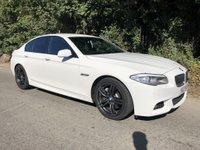 USED 2012 12 BMW 5 SERIES 2.0 525D M SPORT 4d AUTO 215 BHP