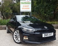 USED 2015 15 VOLKSWAGEN SCIROCCO 2.0 GT TDI BLUEMOTION TECHNOLOGY 2dr Sat Nav, Half Leather, Climate