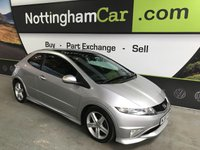 USED 2010 60 HONDA CIVIC 1.8 I-VTEC TYPE S GT 3d 138 BHP