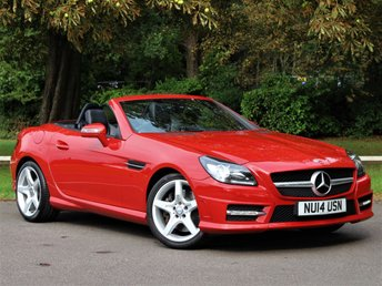 2014 MERCEDES-BENZ SLK 1.8 SLK200 BLUEEFFICIENCY AMG SPORT 2d 184 BHP £14995.00
