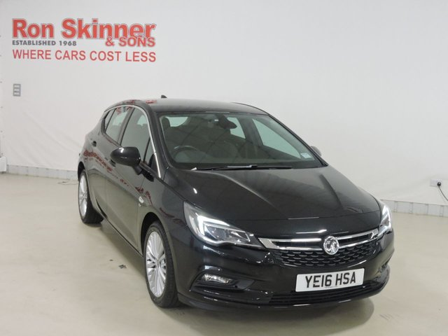 View our 2016 16 VAUXHALL ASTRA 1.4 ELITE NAV 5d 148 BHP