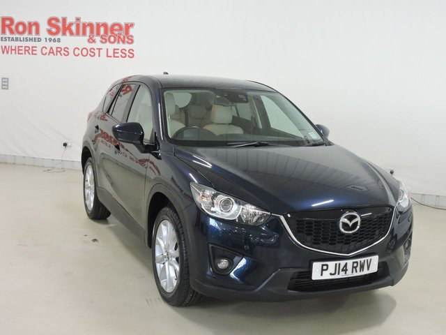 View our 2014 14 MAZDA CX-5 2.2 D SPORT NAV 5d 173 BHP