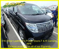 2007 NISSAN ELGRAND Nissan Elgrand Highway Star Stylish Silver Edition 8 seats 3.5 Auto £10000.00