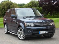 USED 2012 12 LAND ROVER RANGE ROVER SPORT 3.0 SDV6 HSE 5d AUTO 255 BHP GREAT SPEC!!!