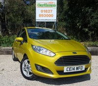 USED 2014 14 FORD FIESTA 1.0 ZETEC Ecoboost 3dr Air Con, Stop Start, £0 Tax