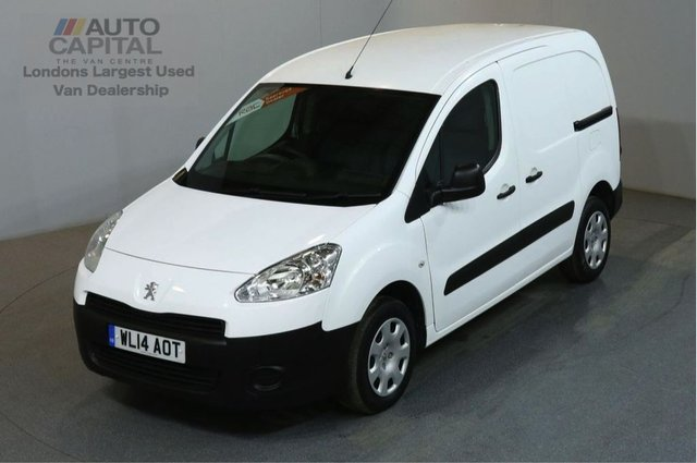 2014 14 PEUGEOT PARTNER 1.6 HDI PROFESSIONAL L1 850 90 BHP SWB AIR CON VAN ONE OWNER FULL S/H SPARE KEY