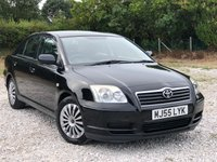 USED 2005 55 TOYOTA AVENSIS 1.8 T2 COLOUR COLLECTION VVT-I 5d 128 BHP