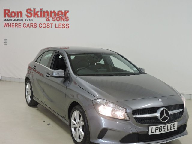 View our 2015 65 MERCEDES-BENZ A-CLASS (81)    1.5 A 180 D SPORT 5d 107 BHP
