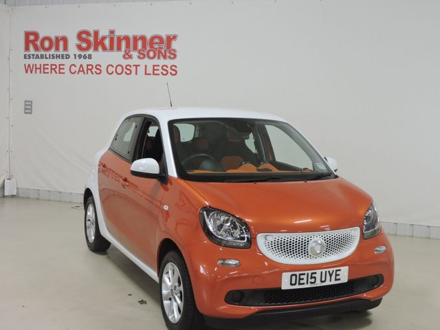 View our 2015 15 SMART FORFOUR (12) 1.0 PASSION 5d 71 BHP