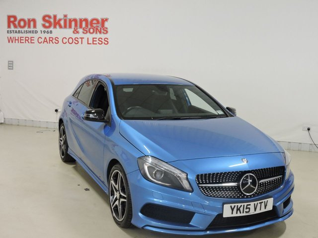 View our 2015 15 MERCEDES-BENZ A-CLASS (101)  1.5 A180 CDI AMG NIGHT EDITION 5d 107 BHP
