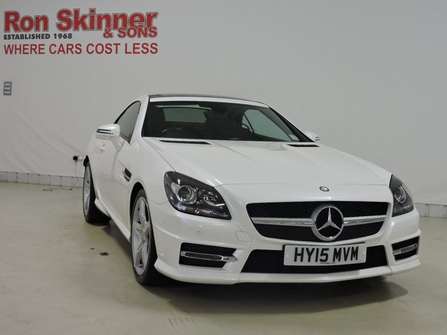 View our 2015 15 MERCEDES-BENZ SLK 2.1 SLK250 CDI BLUEEFFICIENCY AMG SPORT 2d AUTO 204 BHP