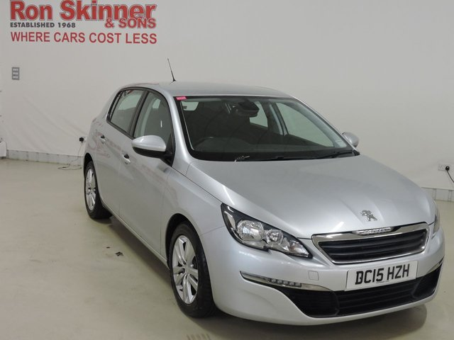 View our 2015 15 PEUGEOT 308 1.6 BLUE HDI S/S ACTIVE 5d 120 BHP
