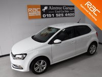 USED 2016 66 VOLKSWAGEN POLO 1.0 MATCH 5d 74 BHP FULL HISTORY FRONT FOG LAMPS, FRONT AND REAR PARKING SENSORS, TOUCH SCREEN DAD CD RADIO AND SAT NAV, AUX/USB/SD CARD,AUTO HEADLAMPS, LEATHER CLAD FLAT BOTTOM MULTIFUNCTION STEERING WHEEL,VOICE COMMAND,ELEC FOLDING MIRRORS,   Call Now on 0151525 4400,  07967141248. Family Run Business Since 1990
