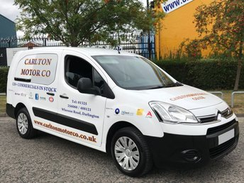 2012 CITROEN BERLINGO 1.6 725 X L2 HDI 90 CREW VAN 5 SEAT [ NO VAT TO PAY ] T/SLD VAN £4950.00