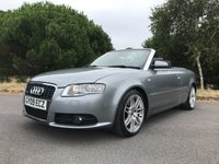 USED 2009 09 AUDI A4 2.0 T FSI SPECIAL EDITION 2d AUTO 197 BHP just in awaiting valet!!!!LTD EDITION!!! CONVERTIBLE!!! AUTO!!! FSH!!!