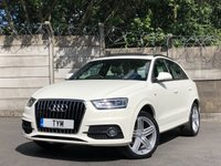 USED 2013 62 AUDI Q3 2.0 TDI S LINE 5d 138 BHP PAN ROOF/SAT NAV/ NPPA LEATHER