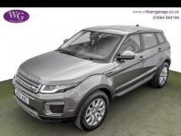 USED 2016 16 LAND ROVER RANGE ROVER EVOQUE 2.0 ED4 SE 5d 148 BHP 1 OWNER, LEATHER, DAB