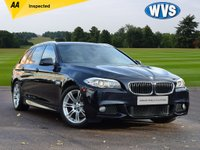 USED 2012 12 BMW 5 SERIES 2.0 520D M SPORT TOURING 5d 181 BHP Here we have a 2012 BMW 520 M Sport Estate in black with service history and 2 keys. Priced at just £12199 with an independent AA inspection