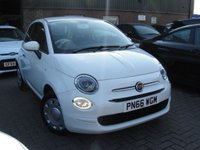 USED 2016 66 FIAT 500 1.2 POP DUALOGIC 3d AUTO 69 BHP ANY PART EXCHANGE WELCOME, COUNTRY WIDE DELIVERY ARRANGED, HUGE SPEC