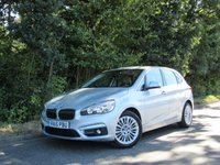 2015 BMW 2 SERIES 2.0 220D LUXURY ACTIVE TOURER 5d AUTO 188 BHP £16500.00