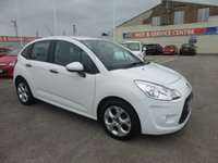 USED 2012 62 CITROEN C3 1.4 WHITE 5d 72 BHP FSH * LOW INS * GOT BAD CREDIT * WE CAN HELP *