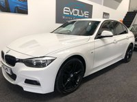 USED 2014 Y BMW 3 SERIES 2.0 318D M SPORT 4d 141 BHP BMW SERVICE PLAN! ONE OWNER, FMDSH! RED LEATHER!