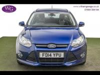 USED 2014 14 FORD FOCUS 1.6 ZETEC NAVIGATOR ECONETIC TDCI START/STOP 5d 104 BHP SAT NAV, DAB, CRUISE, 1 OWNER