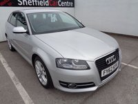 USED 2012 62 AUDI A3 1.6 TDI SPORT 5d 103 BHP FULL SERVICE HISTORY  HALF LEATHER  ALLOY WHEELS  HEATED SEATS  CLIMATE CONTROL  PARKING SENSORS  ABS BRAKES