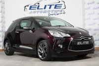 USED 2015 CITROEN DS3 1.6 THP DSIRE S/S 3d 163 BHP RARE COLOUR/FSH/ IMMACULATE!