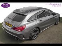 USED 2015 65 MERCEDES-BENZ CLA 2.1 CLA220 AMG Sport Shooting Brake 7G-DCT (s/s) 5dr SAT NAV, H/SEATS, 1 OWNER
