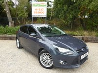 USED 2013 13 FORD FOCUS 1.0 ZETEC Ecoboost 5dr Air Con, Bluetooth, Stop Start