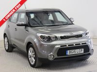 USED 2015 15 KIA SOUL 1.6 CONNECT 5d 130 BHP ***1 Owner, Full KIA Service History, serviced in April 2016 at 2,64 miles at KIA, April 2017 at 6,440 miles at Kia and April 2018 at 13,035 miles at KIA. MOT until 28th February 2019, Balance of KIA warranty until 27th April 2022. Reversing Camera, Bluetooth, Air Conditioning, Alloys. Nationwide Delivery Available. Finance Available at 9.9% APR Representative.***
