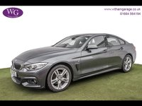 USED 2016 16 BMW 4 SERIES 2.0 420d M Sport Gran Coupe xDrive (s/s) 5dr SAT NAV, 1 OWNER, DAB