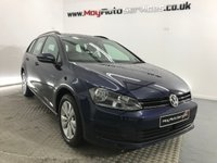 2015 VOLKSWAGEN GOLF 1.6 SE TDI BLUEMOTION TECHNOLOGY 5d 103 BHP £8350.00