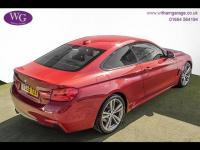 USED 2015 65 BMW 4 SERIES  2.0 420d M Sport xDrive 2dr SAT NAV, H/SEATS, DAB