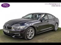 USED 2015 15 BMW 4 SERIES 2.0 420d M Sport Gran Coupe xDrive (s/s) 4dr SAT NAV, DAB, H/SEATS