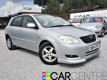 View our 2004 04 TOYOTA COROLLA 1.4 T3 VVT-I 5d 92 BHP