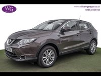 USED 2014 14 NISSAN QASHQAI 1.2 ACENTA DIG-T SMART VISION 5d 113 BHP CRUISE, PARKING SENSORS