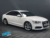 USED 2014 63 AUDI A6 2.0 TDI S LINE  * 0% Deposit Finance Available