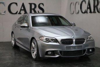 2014 BMW 5 SERIES 3.0 535D M SPORT 4d 309 BHP £18995.00