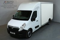 USED 2016 16 VAUXHALL MOVANO 2.3 F3500 123 BHP L3 LWB LUTON VAN ONE OWNER, SERVICE HISTORY