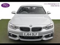 USED 2014 64 BMW 4 SERIES 2.0 420d M Sport 2dr SAT NAV, DAB, H/SEATS, LEATHER