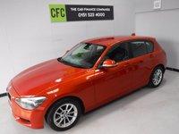 2014 BMW 1 SERIES 1.6 116D EFFICIENTDYNAMICS 5d 114 BHP £9000.00