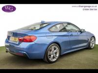 USED 2015 15 BMW 4 SERIES 2.0 420i M Sport 2dr SAT NAV, LEATHER, H/SEATS
