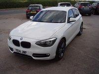 2014 BMW 1 SERIES 2.0 118D SPORT 5d AUTO 141 BHP £11995.00