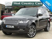 USED 2014 14 LAND ROVER RANGE ROVER 4.4 SDV8 AUTOBIOGRAPHY 5d AUTO 339 BHP Full Land Rover Service History